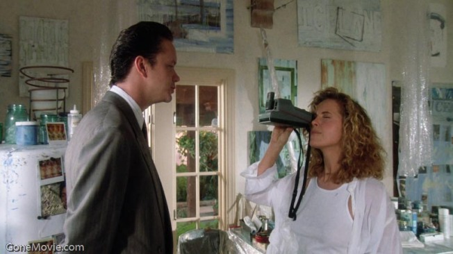Tim Robbins and Greta Scacchi in The Player
